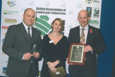 British Association of Landscape Industries award for Oak View Landscapes