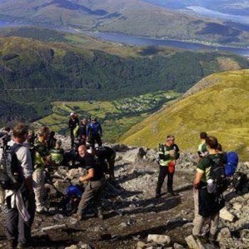 Community 3 peaks challenge hiking