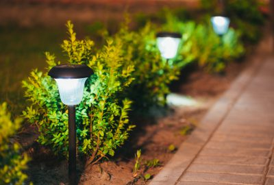 Garden path lighting