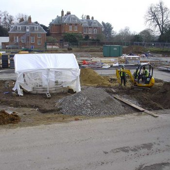 Balls Park Hertford under construction