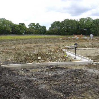 Crematorium Brentwood landscape under construction