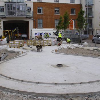 Drivers Yard Capital Square Chelmsford under construction